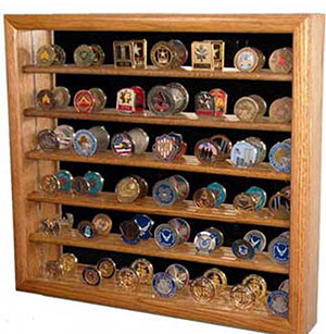 challenge coin display image