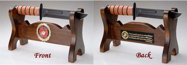 Fighting Knife Display Stand