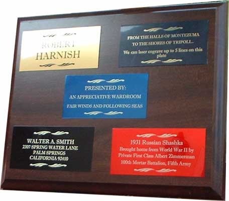 engraved plate colors