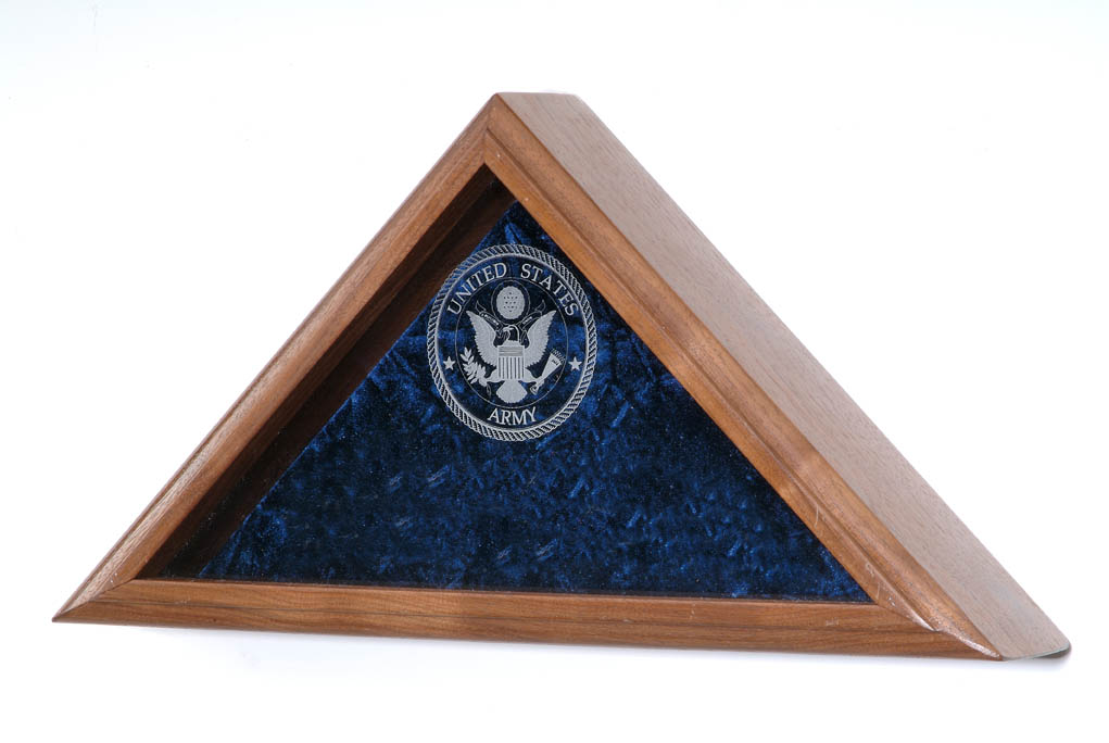Large Flag Display Case
