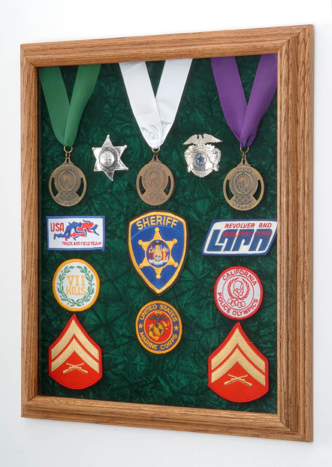 Medals and awards display