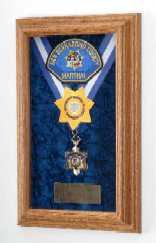 Law Enforcement shadow box