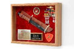 Military Knife Display Case