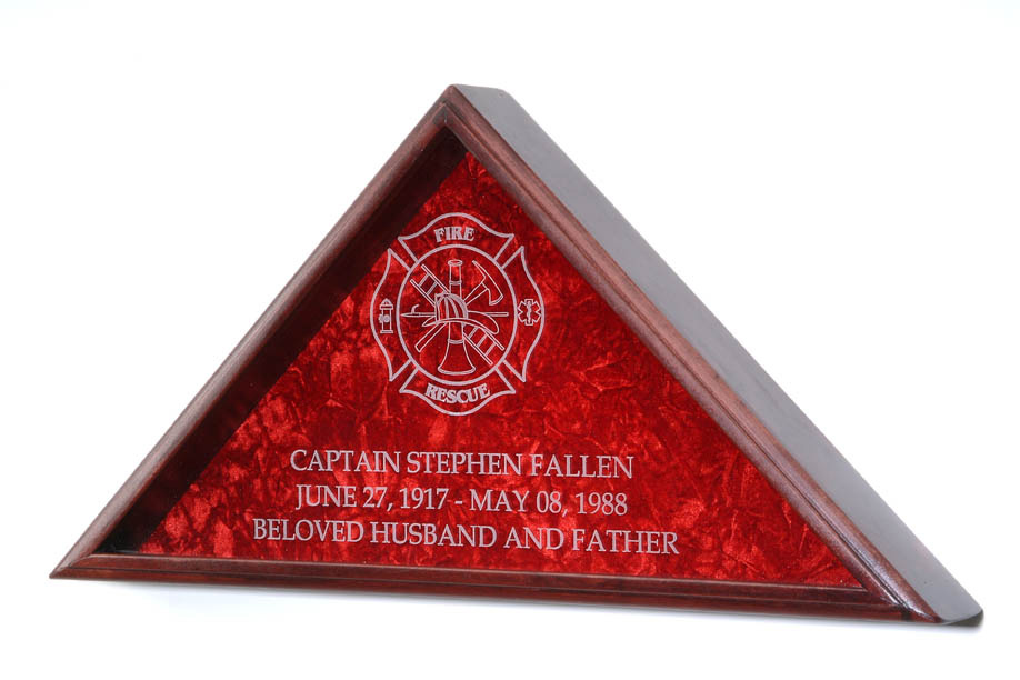 Firefighter Flag Case