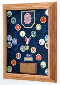 boy scout awards case