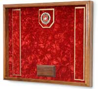 military gift shadow box
