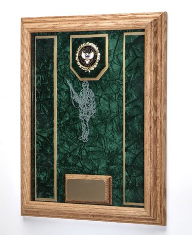 Deluxe Military Awards Display Case