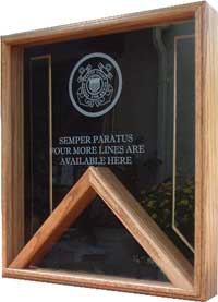 marine medals case