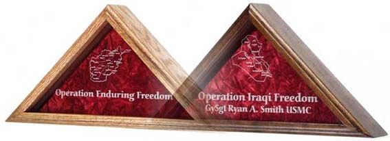 OIF, OEF, Flag Case