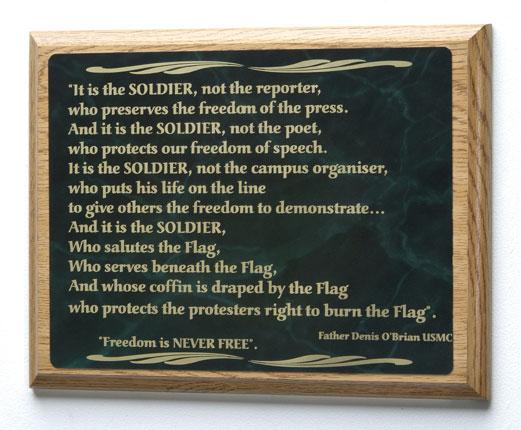 Soldiers Poem #53