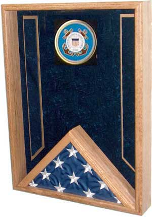 flag and medals case